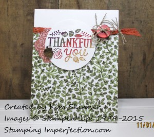 Paper Craft Crew Card Sketch #16 design team submission by Kim Skinner. #stampinup #papercraftcrew #kimskinner