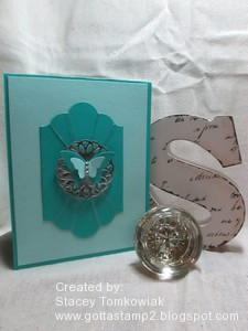 Paper Craft Crew Challenge design team submission by Stacey Tomkowiak. #stampinup #papercraftcrew #staceytomkowiak