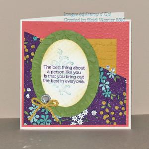 Paper Craft Crew Challenge 187 Design Team Card submitted by Heidi Weaver. #papercraftcrew #heidiweaver #themechallenge