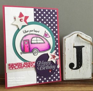 Paper Craft Crew design team submission by Jan McQueen. #stampinup #papercraftcrew #janmcqueen