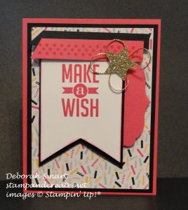 Paper Craft Crew Design Team submission by Deborah Smart for Card Sketch Challenge 189. #deborahsmart #stampinup #sketchchallenge #papercraftcrew