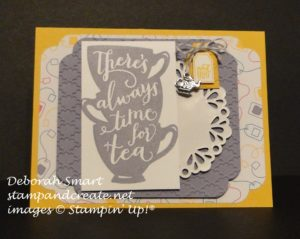 Paper Craft Crew Design Team submission by Deborah Smart for Card Sketch Challenge 191. #deborahsmart #stampinup #sketchchallenge #papercraftcrew