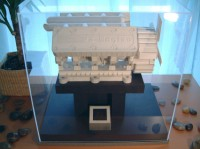 Working papercraft v-8 engine