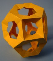 A complex model made from gyroscope modules