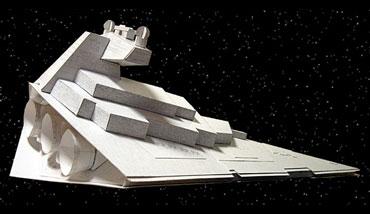 Star Destroyer Papercraft