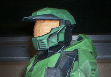 Papercraft Halo Master Chief