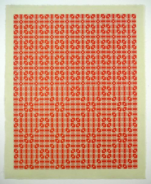 Stukenborg Letterpress Dice Prints