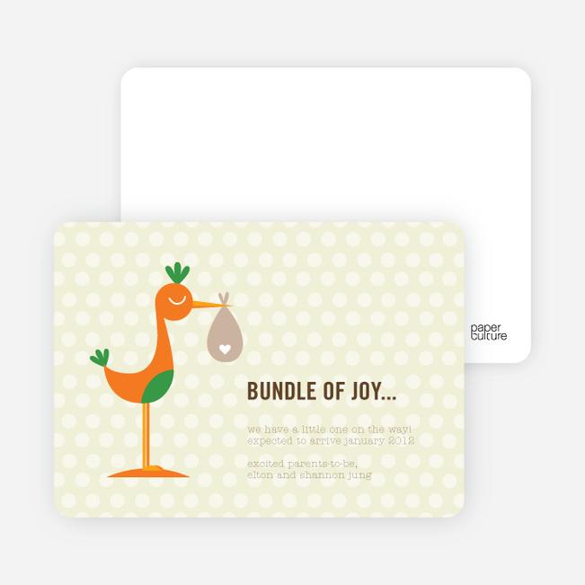 stork bundle of joy