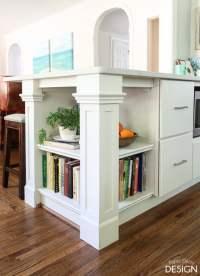 Build it: Custom Kitchen Bookcase
