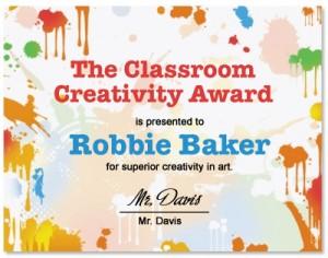 award ideas for students