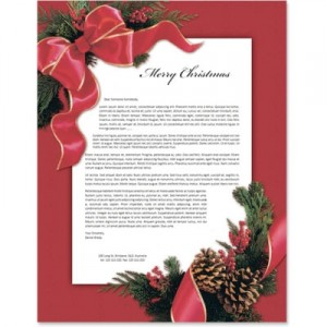 Sample Business Christmas Letters For