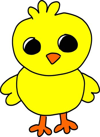 How To Draw A Baby Chick Easy Video Tutorial Paper Flo Designs
