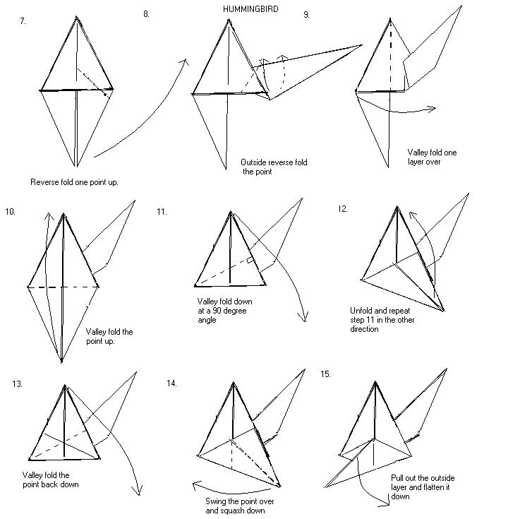 origami paper crane diagram ready remote vehicle wiring diagrams paperfolding com