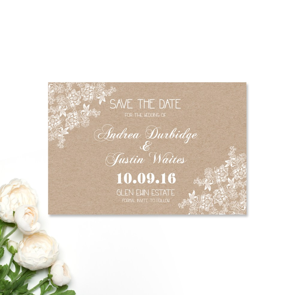 Andrea + Justin Save the Date