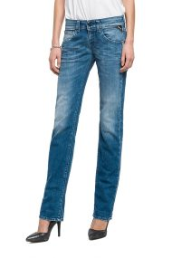 Replay Newswenfani relaxed fit jeans medium light blue