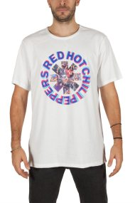 Amplified Red Hot Chili Peppers Freaky styley t-shirt λευκό