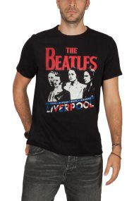 Amplified The Beatles Liverpool t-shirt μαύρο