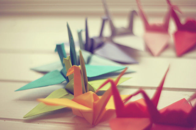 Origami Crane And Variations - Paper Kawaii