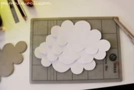 3D Cloud Decoration Tutorial via @paper_kawaii