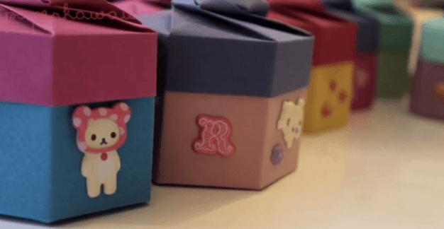 Video Tutorial – Origami Hexagonal Gift Box