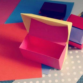 Origami Prism Gift Box, photo by kuka_veg