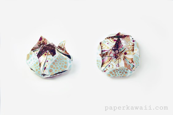 Easy Origami Lotus Video Tutorial