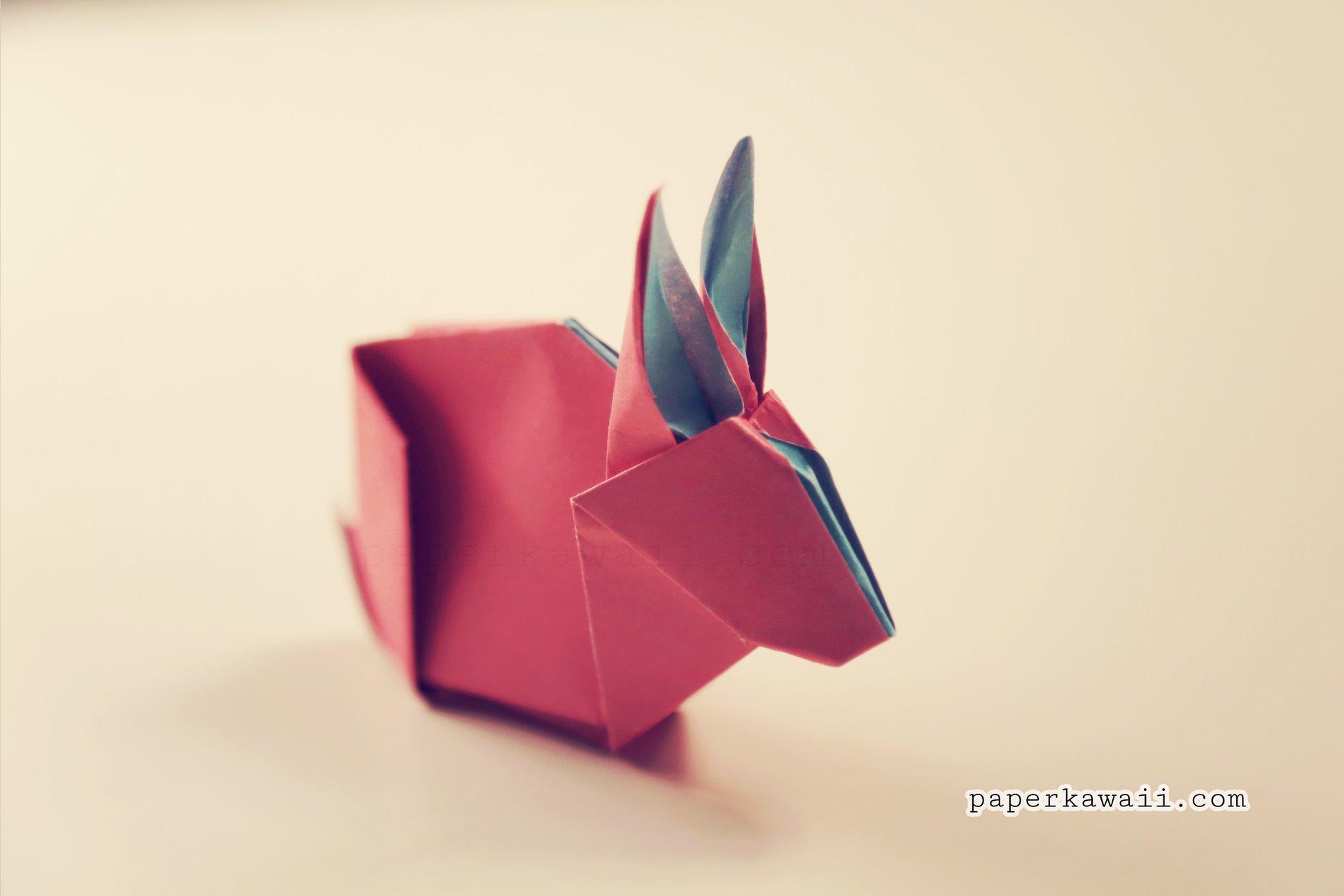 rabbit heart diagram ge adora refrigerator wiring origami bunny tutorial and paper kawaii