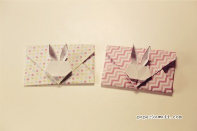 Origami Bunny Rabbit Envelope Tutorial V2