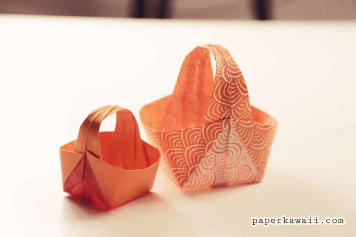 Origami Easter Basket 04