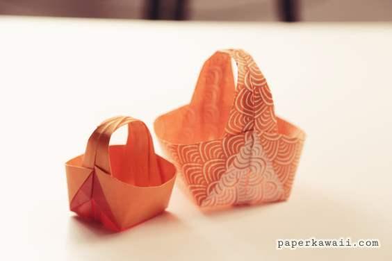 Origami Easter Basket Tutorial