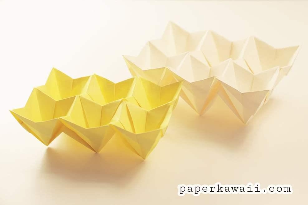 Origami Egg Box Tutorial via @paper_kawaii