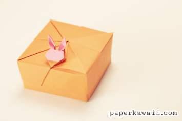 Modular Origami Rabbit Box Tutorial via @paper_kawaii