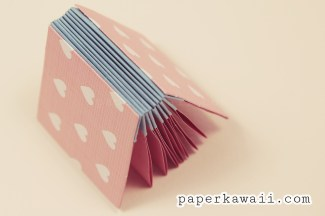 Origami Blizzard Book Tutorial Video via @paper_kawaii