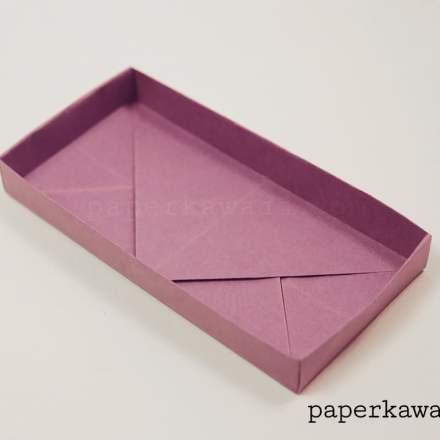 Rectangular Origami Box Divider Tutorial - 3 Kinds via @paper_kawaii