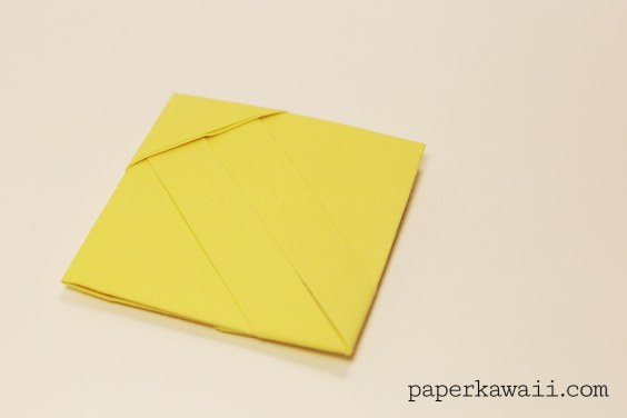 Origami Square Letter Fold Tutorial