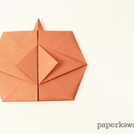 Easy Origami Crow Tutorial Video via @paper_kawaii