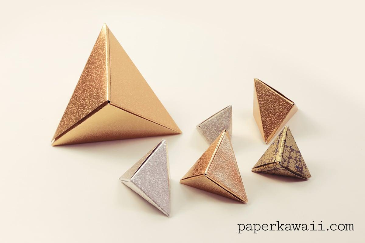 cool modular origami diagram simplex 4 wire duct detector wiring 39fox box 39 video tutorial paper kawaii