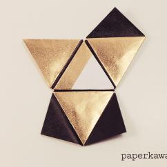 Cool Modular Origami Diagram Ezgo Txt Ignition Switch Wiring Pyramid Box Video Tutorial Paper Kawaii