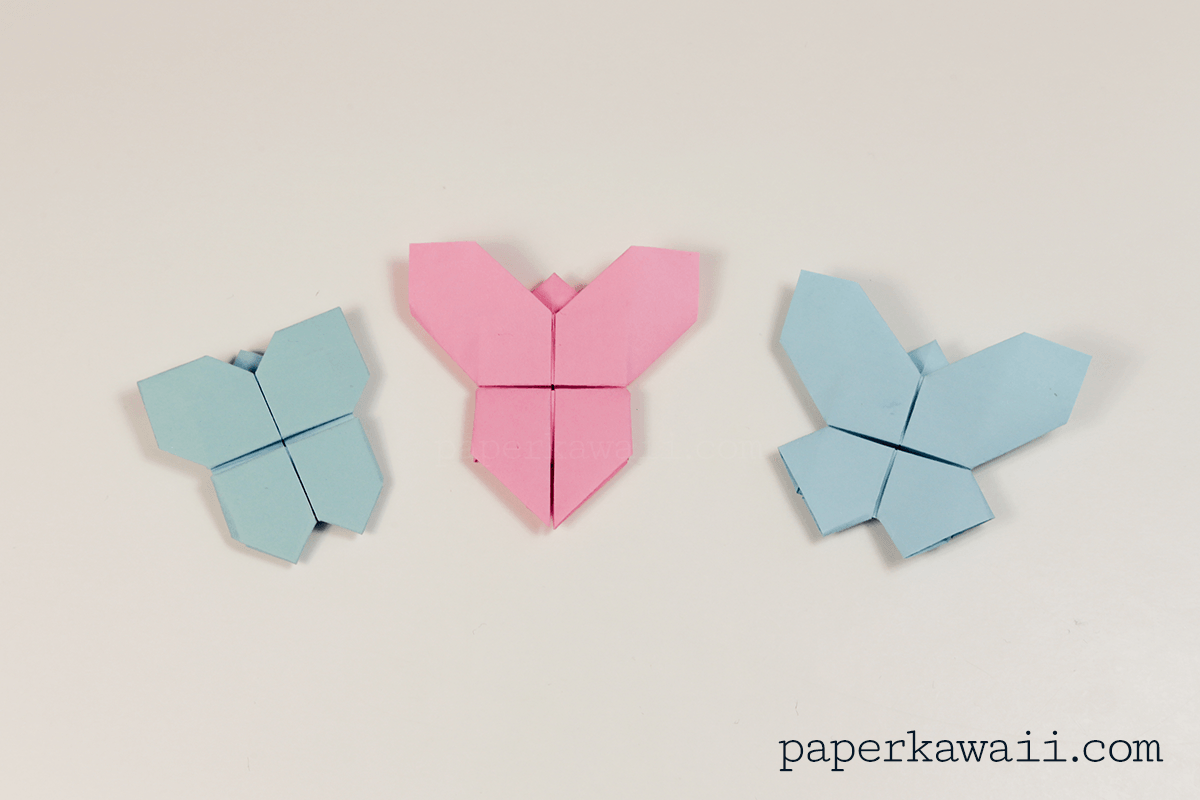 Origami Butterfly – Video Tutorial to Fold an Origami Swallowtail ... | 800x1200