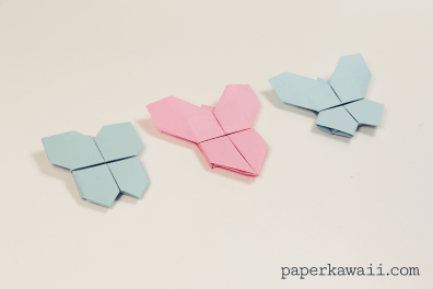 Origami Butterfly Tutorial 3 in 1