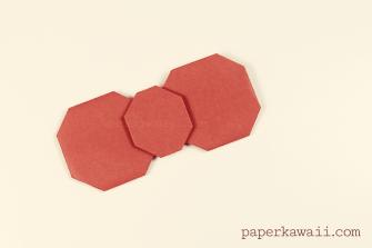 Origami Hello Kitty Bow Video Tutorial via @paper_kawaii