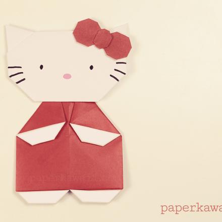 Origami Kawasaki Rose Video Tutorial via @paper_kawaii
