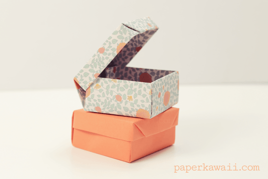 Origami Ring Box Tutorial via @paper_kawaii