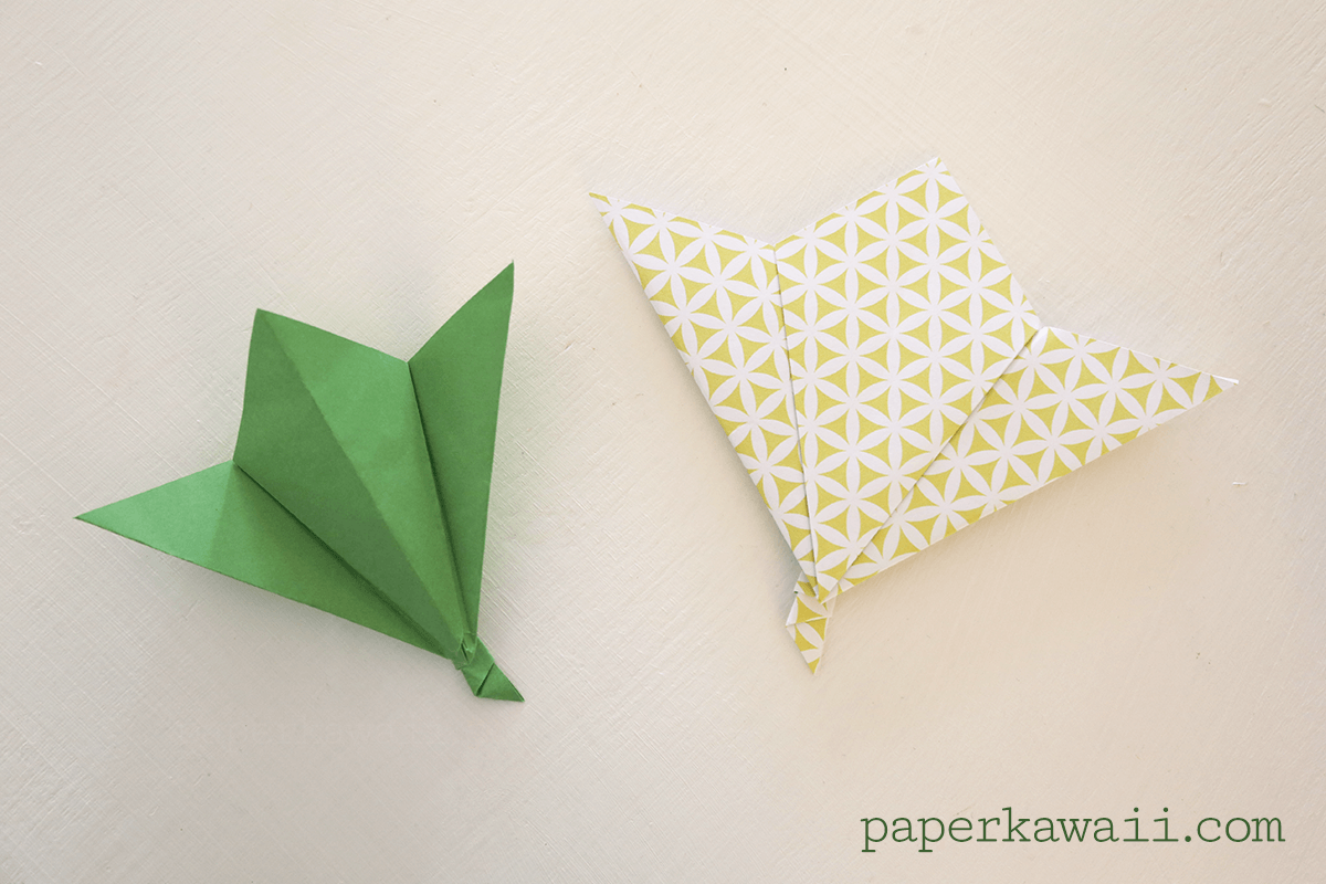 Click Here To Watch The Carrot Box Tutorial Origami Leaf