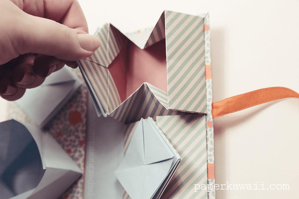 Origami Chinese Thread Book Video Tutorial via @paper_kawaii