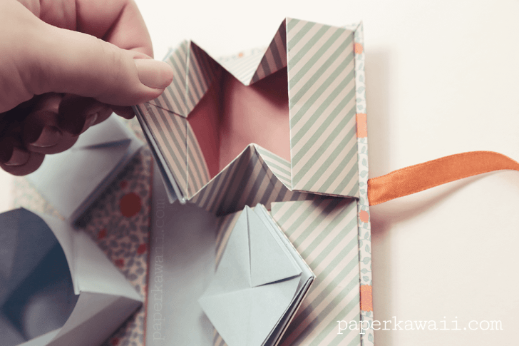 Origami Chinese Thread Book Video Tutorial via @paper_kawaii