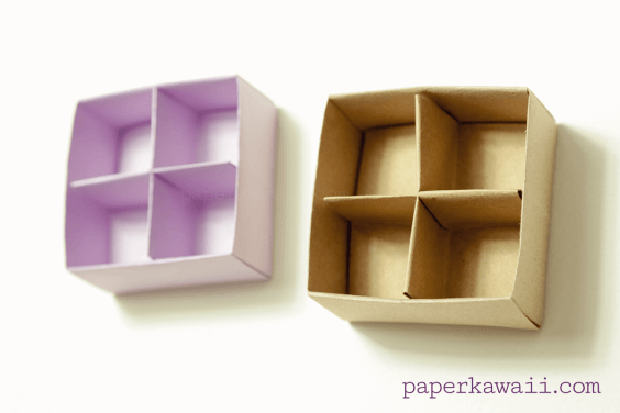 Origami Masu Box Divider Video Tutorial