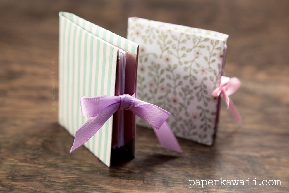 Origami Popup Book Video Tutorial via @paper_kawaii