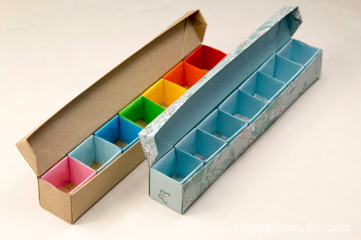 Origami Pill Box Organizer Video Tutorial Pillbox Origamibox