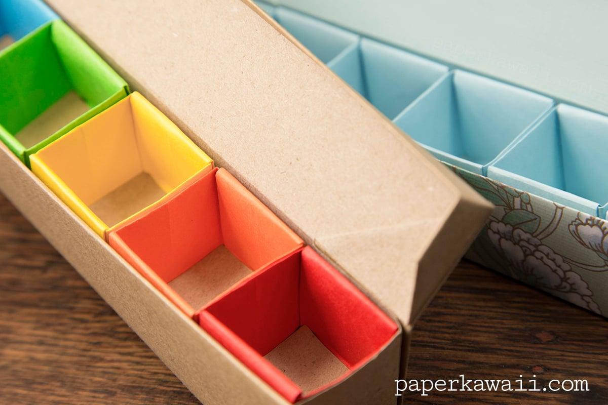 Origami Pill Box Paper Kawaii